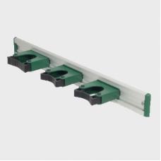 Greenwalk® metalic rail for mop handle holders