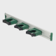Greenwalk® metalic rail for mop handle holders