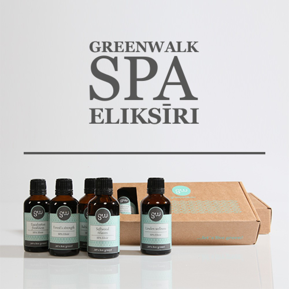 Greenwalk® SPA Eliksīru komplekts Mix 4+1, 5x50ml