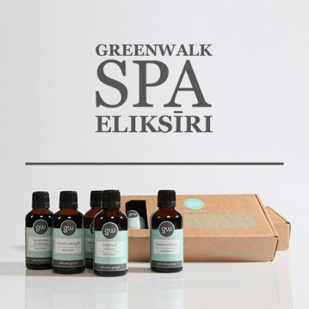 Greenwalk® SPA Eliksīru komplekts Mix 4+1, 5x50ml