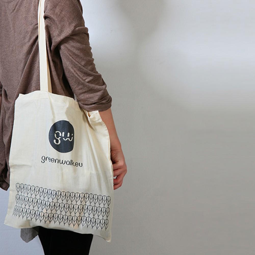 Greenwalk® auduma maisiņš