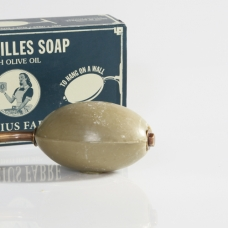 Marius Fabre Marseilles Olive Oil Soap with holder 290g