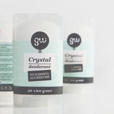 Greenwalk®  natural crystal deodorant with aloe vera, 90g