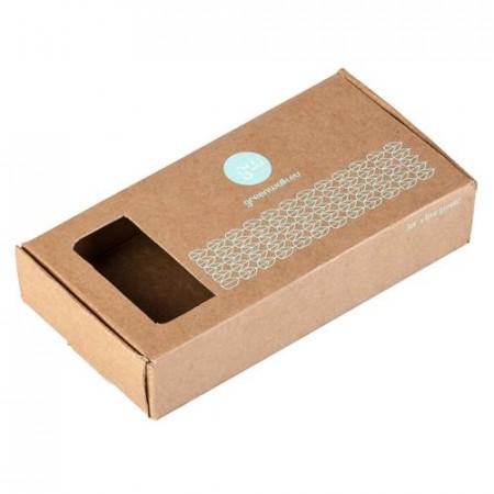 Greenwalk® kartona kastīte ar apdruku, 1 gab.