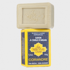 Marius Fabre Shea Butter Soap «Coriander» with Argan oil, 150g