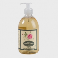 Marius Fabre Marseilles Liquid Soap «Rose», 500ml