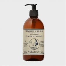 Marius Fabre Marseilles Olive oil Liquid Soap «Orange skin» 500ml