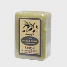 Marius Fabre Olive Oil Soap «No fragrance» with Shea Butter, 150g