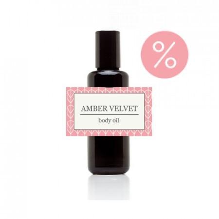 Greenwalk® masāžas eļļa Amber velvet 50ml