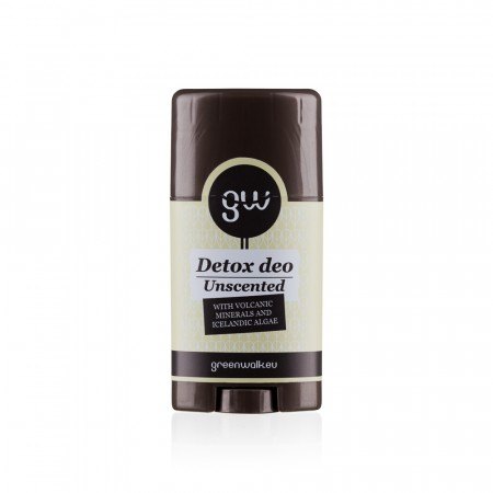 "Greenwalk® Detox deo ""Unscented"", 65g"