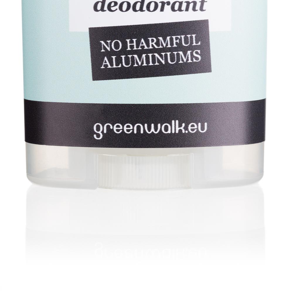 Greenwalk® dabīgo kristālu dezodorants ar alveju, 90g