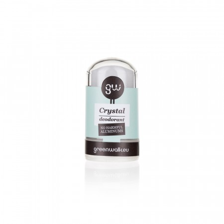 Greenwalk® dabīgo kristālu dezodorants ar alveju, 60g