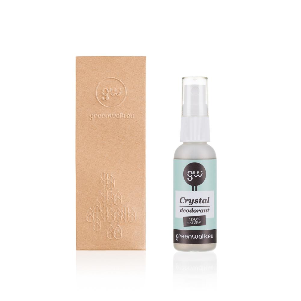 Greenwalk® izsmidzināms dabīgo kristālu dezodorants, 25ml