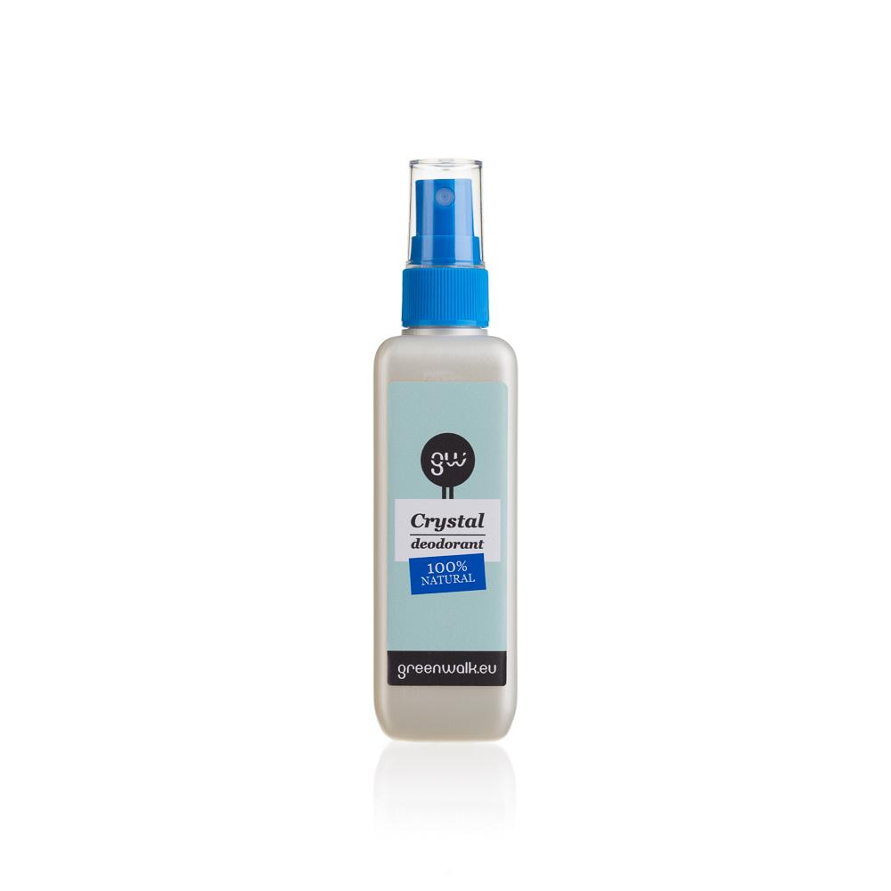 Greenwalk® izsmidzināms dabīgo kristālu dezodorants, 120ml