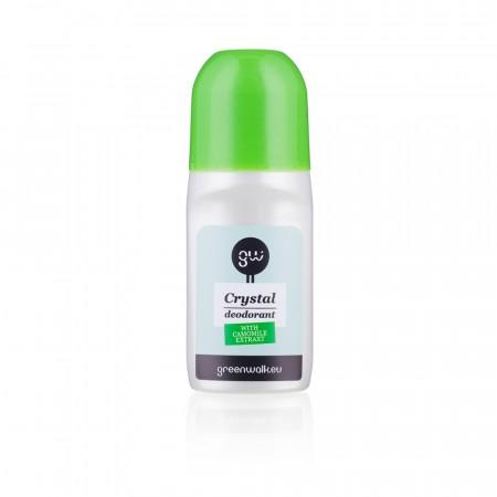 Greenwalk® dabīgo kristālu dezodorants rullītis ar kumelīšu ekstraktu, 90ml