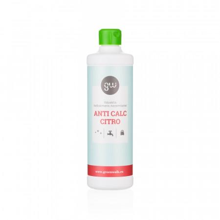 Greenwalk® Kaļķakmens tīrīšanas līdzeklis «Anti Calc Citro», 500ml