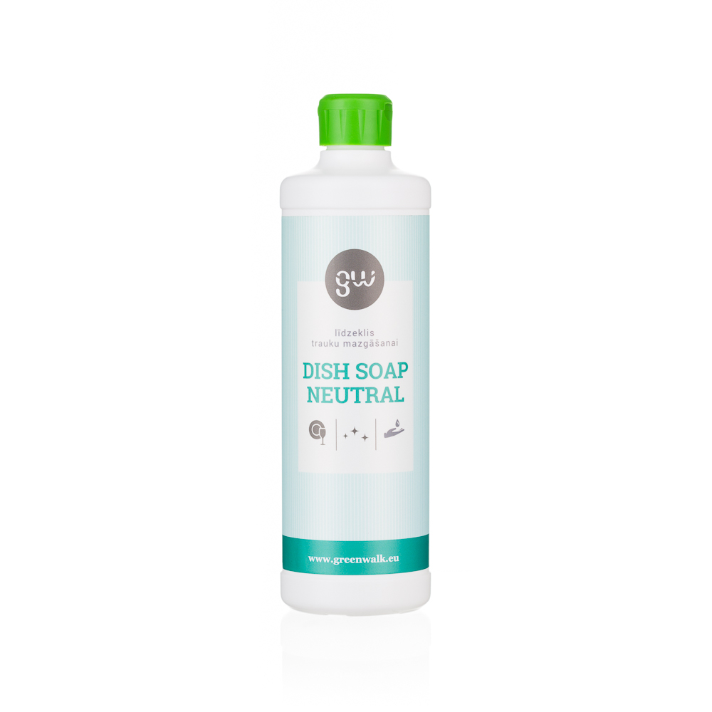 Greenwalk® Trauku mazgāšanas līdzeklis «Dish Soap Neutral», 500ml