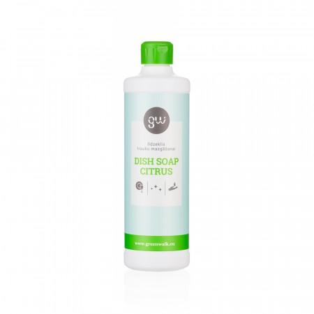 Greenwalk® Trauku mazgāšanas līdzeklis «Dish Soap Citrus», 500ml