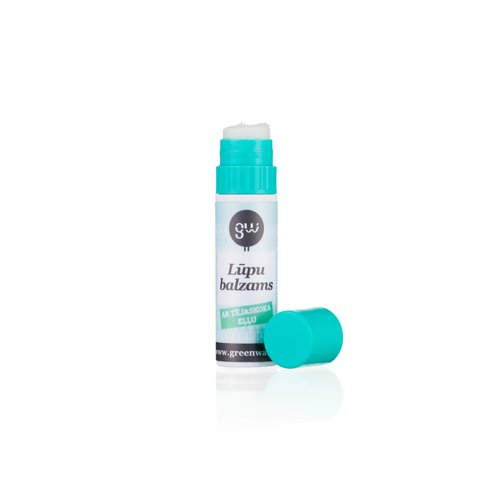 Greenwalk® mitrinošs lūpu balzams