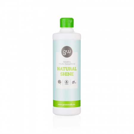 Greenwalk® Trauku mazgājamām mašīnām «Natural Shine», 500ml
