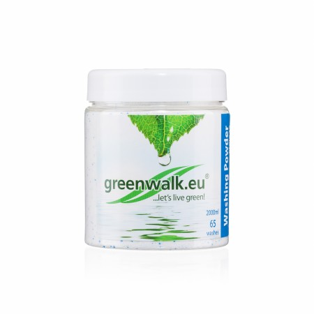 Greenwalk® Veļas pulveris ar sodu «Extra», 500g